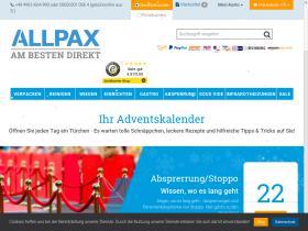 Gutschein Allpax