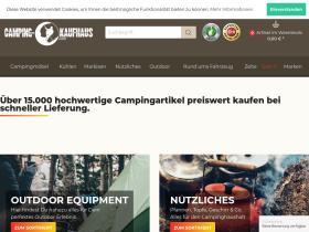 Gutschein Camping Kaufhaus