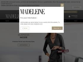 Aktionscode Madeleine