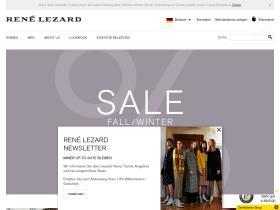 Gutschein Rene Lezard